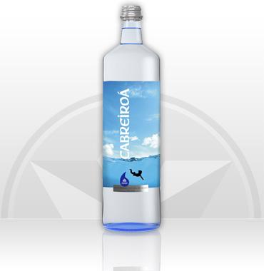 Agua Cabreiroá Sin Gas Cristal 0.75 cl